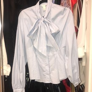 Light blue H&M Work blouse